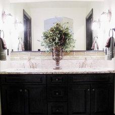 Traditional Bathroom by April Elizabeth
