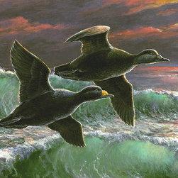 """""""Wings of the Surf"""" by Paul McGehee - © Paul McGehee"""