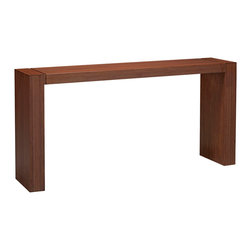 Greenington - Greenington Hazel Console Table in Classic Bamboo - Console Table in Classic Bamboo belongs to Hazel Collection by Greenington Simplicity, crafted at it's highest level of quality in this, The Hazel Dining Collection.