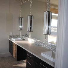 Modern Bathroom by Paradigm Construction Company
