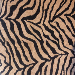 ANIMAL PRINT FABRICS - GREAT FOR OTTOMANS, PILLOWS OR ACCENT CHAIRS - MORGAN SIMBA 73%RAYON 23%POLYESTER