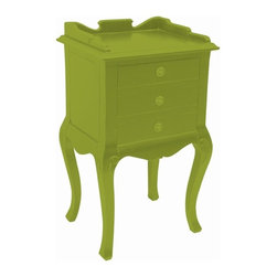 Trade Winds - New Trade Winds Table Green Painted Hardwood - Product Details