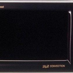 "Sharp - R820BK Grill 2 Convection Microwave in Dark Gray - Features: -0.9 cu. ft., 900 Watts (top and bottom heaters: 1,500 Watts) -2-line, 12 digit interactive display -12 3/4"" diameter turntable -7 automatic settings -Temperature control, 100º, 150º, 275º - 450ºF in 25º Increments -AC line voltage: 120V, Single Phase, 60Hz, AC only -AC power required: 1.55kW, 13.0A -Interior dimensions: 7.5""H x 13.875""W x 14.5"" -Exterior dimensions: 12.125""H x 20.5""W x 19.75""D Enhanced browning and crisping are possible in a convection microwave oven. Thats because only the Grill 2 Convection has ""double"" grills that emit radiant heat both over and under food. The AutoGrill automatically grills steaks, burgers, fish and poultry without drying. Another great feature, the AutoRoast, automatically roasts eye of round, chicken, turkey breast and pork loin to perfection. Both AutoDefrost and the Reheat functions provide quick and even results everytime! A 2 line, 12 digit interactive display provides easy programming steps, cooking hints, and special options. Available in Dark Gray, White or Silver. This product must be kept at least 2 ft away from all other appliances i.e. a stove."