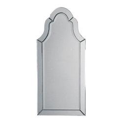 Uttermost - Uttermost Hovan Frameless Arched Mirror - 11912 B - Uttermost Hovan Frameless Arched Mirror - 11912 B