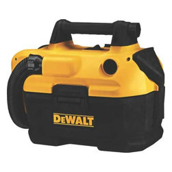 DEWALT - 20V Wet/Dry Cordless Vacuum - DEWALT 18/20 V MAX cordless wet-dry vacuum. 2 Gallon tank capacity provides enough storage to empty a toilet or clogged pipe.