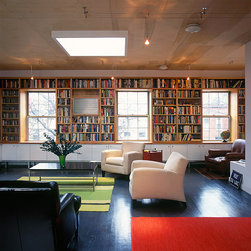 Built-in Bookcase - Photo by Steve Williams
