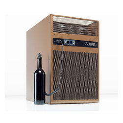 WhisperKOOL - WhisperKOOL SC 8000i Cooling Unit - Don't sweat your cellar! This cooling unit installs in the wall and boasts anti-frost and defrost features for worry-free wine protection.