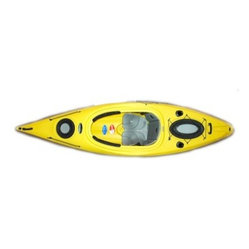 Future Beach Quantum 124 Kayak - Yellow