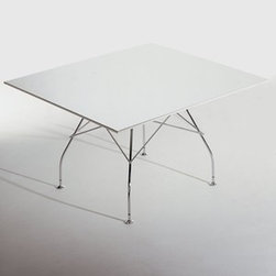 Kartell - Kartell | Glossy Table with Laminated Top - Design by Antonio Citterio with Oliver Löw.