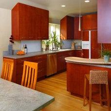 Contemporary Kitchen by Patricia Benson