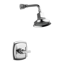 KOHLER - KOHLER K-T16234-3-CP Margaux Rite-Temp Shower Faucet Trim with Cross Handle in P - KOHLER K-T16234-3-CP Margaux Rite-Temp Shower Faucet Trim with Cross Handle in Polished ChromeMargaux offers a unique blend of traditional design elements and modern fluidity to complement eclectic design interiors with refreshed sophistication.KOHLER K-T16234-3-CP Margaux Rite-Temp Shower Faucet Trim with Cross Handle in Polished Chrome, Features:• KOHLER finishes resist corrosion and tarnishing, exceeding industry durability standards over two times