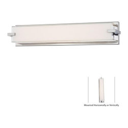 "Kovacs - Kovacs P5216-077-L LED 24"" Wide Bathroom Bath Bar from the Cubism Collection - Features:"