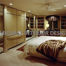 Contemporary Bedroom by I. Michael Interior Design