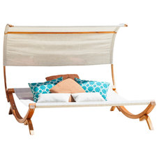 Tropical Outdoor Chaise Lounges by Great Deal Furniture