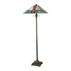 Dale Tiffany - New Dale Tiffany Tranquility Floor Lamp - Product Details