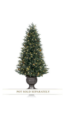 Balsam Hill Greenwich Estates™ Pine Artificial Christmas Tree - RELISH THE MAGNIFICENCE OF BALSAM HILL'S GREENWICH ESTATES™ PINE TREE |