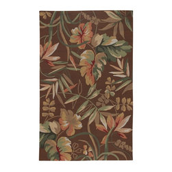 Couristan - Couristan 2166-8066 Covington Light Cocoa Indoor/Outdoor Rug Multicolor - 216680 - Shop for Rugs and Runners from Hayneedle.com! With bold abstract flowers and rich hues of chocolate brown and peach the Couristan 2166-8066 Covington Light Cocoa Indoor/Outdoor Rug makes a colorful statement of chic style.Delicately hand-hooked for a distinctive artisan-crafted feel this contemporary rug is durably crafted of 100% fiber-enhanced polypropylene. Its sturdy fabric is designed to last and is also water- and mildew-resistant making it ideal for indoor or outdoor use.This handsome multi-purpose rug is low-maintenance requiring regular vacuuming and spot cleaning. 100% recyclable this floor mat is also eco-friendly for your peace of mind. Made in China. Available in a variety of sizes and shapes.About Couristan RugsThe renowned Couristan Rug Company is headquartered in Fort Lee New Jersey. The company continues to take great pride in its 78 year-old commitment to excellence by weaving four key components - Trust Style Quality and Innovation into each and every product it imports or manufactures. This commitment has earned the company a long-standing and successful position in the floor covering industry while providing its customers with the highest levels of design value and customer service.