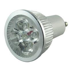 TorchStar - 110V 4W Dimmable GU10 LED Bulb Spotlight - 50Watt Equivalent 45 Degree Beam Angl - Overview