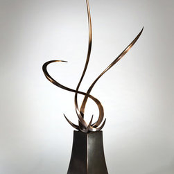 Untitled - Bronze and Steel