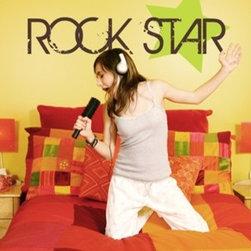 Alphabet Garden Designs - Rock Star Wall Decal - Rock Star Wall Decal