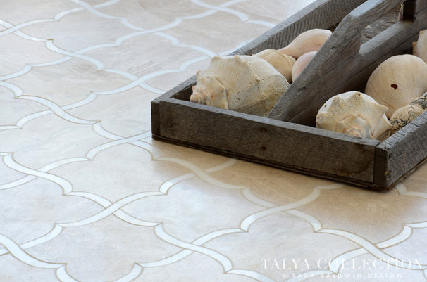 Contemporary Tile by Sara Baldwin Design