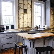 Eclectic Kitchen by Regina Garcia Design LLC