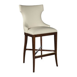 EuroLux Home - New Barstool Stool Solid Birch Ebonized - Product Details