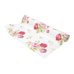 Cath Kidston - Antique Rose Wallpaper - When I think about florals I adore, my mind immediately jumps to Cath Kidston. While the colors are lighter and more trad in this pattern, the wallpaper still feels distinctly fresh and current.