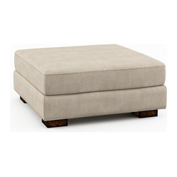"Viesso - Brenem Ottoman - 36"" x 36"" (Custom) - This ottoman goes with the Brenem model, or could be used on its own. It has a simple and funtional design."