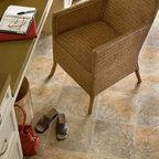 Peruvian Slate series vinyl sheet flooring from Armstrong -