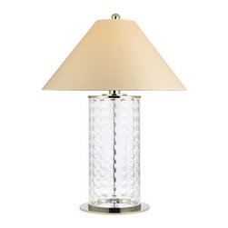 Hudson Valley Lighting - Hudson Valley Lighting L538 Shelby 1 Light Table Lamp - Hudson Valley Lighting L538 Shelby 1 Light Table LampTable lamps from the Shelby Collection have a contemporary style that features a hollow glass central column.Hudson Valley Lighting L538 Features: