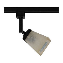 Hampton Bay - Hampton Bay 1-Light Linen Glass Linear Track Head Matte Black Finish EC4188BK - Shop for Lighting & Fans at The Home Depot. This Hampton Bay Linear Track Lighting Head provides an abundance of light for your interior space. This track head accepts a 50-watt GU10-16 halogen bulb (included). It features a multi-directional lamp head to provide light for difficult places where light does not reach.