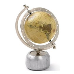 Go Home Ltd - Go Home Aviator Desk Globe - Go Home Ltd Aviator Desk Globe X-09081