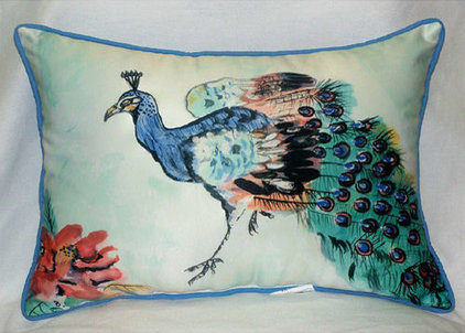 Eclectic Outdoor Pillows by Sally Lee by the Sea, LLC