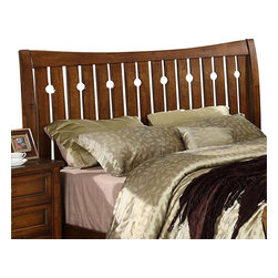 Riverside Furniture - Riverside Furniture Craftsman Home King Headboard - Riverside Furniture - Headboards - 2980 - Riverside's products are designed and constructed for use in the home and are generally not intended for rental, commercial, institutional or other applications not considered to be household usage.