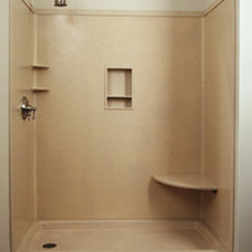 Modern Showers by Lafex Bestone