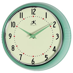 contemporary clocks by Amazon