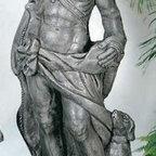 """Apollo The Hunter Statue - Dimensions: 60"""" H, Base: 16"""" x 16"""""""