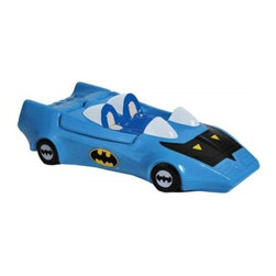 Westland - 3.25 Inch DC Comics Batman's Blue and Black Bat Mobile Cookie Jar - This gorgeous 3.25 Inch DC Comics Batman's Blue and Black Bat Mobile Cookie Jar has the finest details and highest quality you will find anywhere! 3.25 Inch DC Comics Batman's Blue and Black Bat Mobile Cookie Jar is truly remarkable.