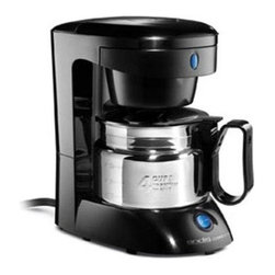Andis Company - Coffeemaker 4-Cup Stainless-Steel - Features: