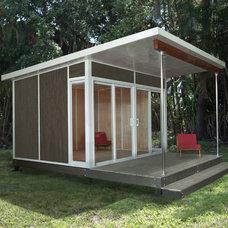Modern Prefab Studios by Cabin Fever