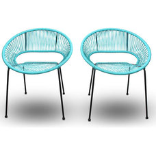 Midcentury Outdoor Lounge Chairs by PatioProductions