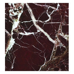 """Rosso Levanto Marble Polished Floor Tiles 12"""" x 12"""" - Lot of 30 Tiles - Rosso Levanto Marble Polished Floor Tiles 12"""" x 12"""" Please Note that We currently ship via common carriers for residential and commercial shipments."""