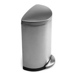 Contemporary Kitchen Trash Cans -