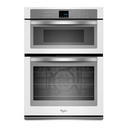 """Whirlpool - WOC95EC0AH 30"""" Single Electric Wall Oven With 5.0 Cu. Ft. Self-Cleaning  Microwa - The Whirlpool WOC95EC0A 50 Cu Ft capacity and 14 Cu Ft capacity microwave provides enough space to handle family meals Digital controls provide a sophisticated look are easy to clean and can be set with a simple touch 10 power levels and 900 watts of..."""