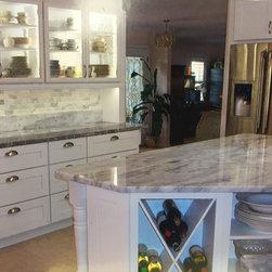 White Shaker Style kitchen -