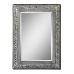Borrello Gray Wash Mirror