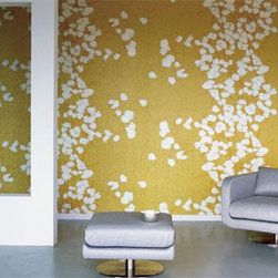 Modern Wallpaper - NARCO FLOWERS surreal cherry tree in blossom.