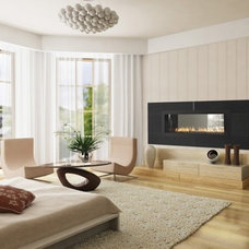 Eclectic  by Heat & Glo Fireplaces: Designed to Inspire