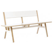 modern benches by Design Public